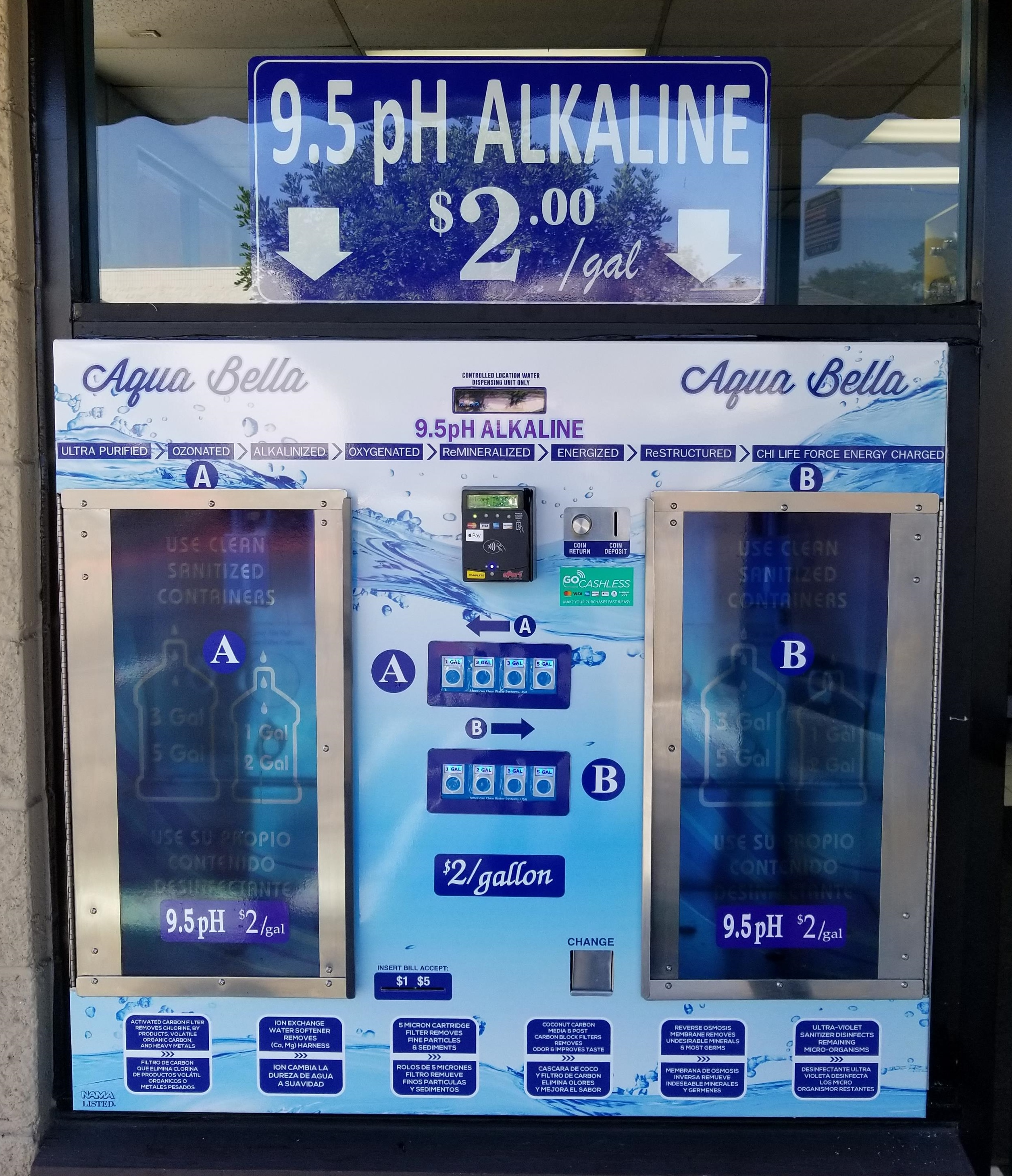 About our Vending Machines
